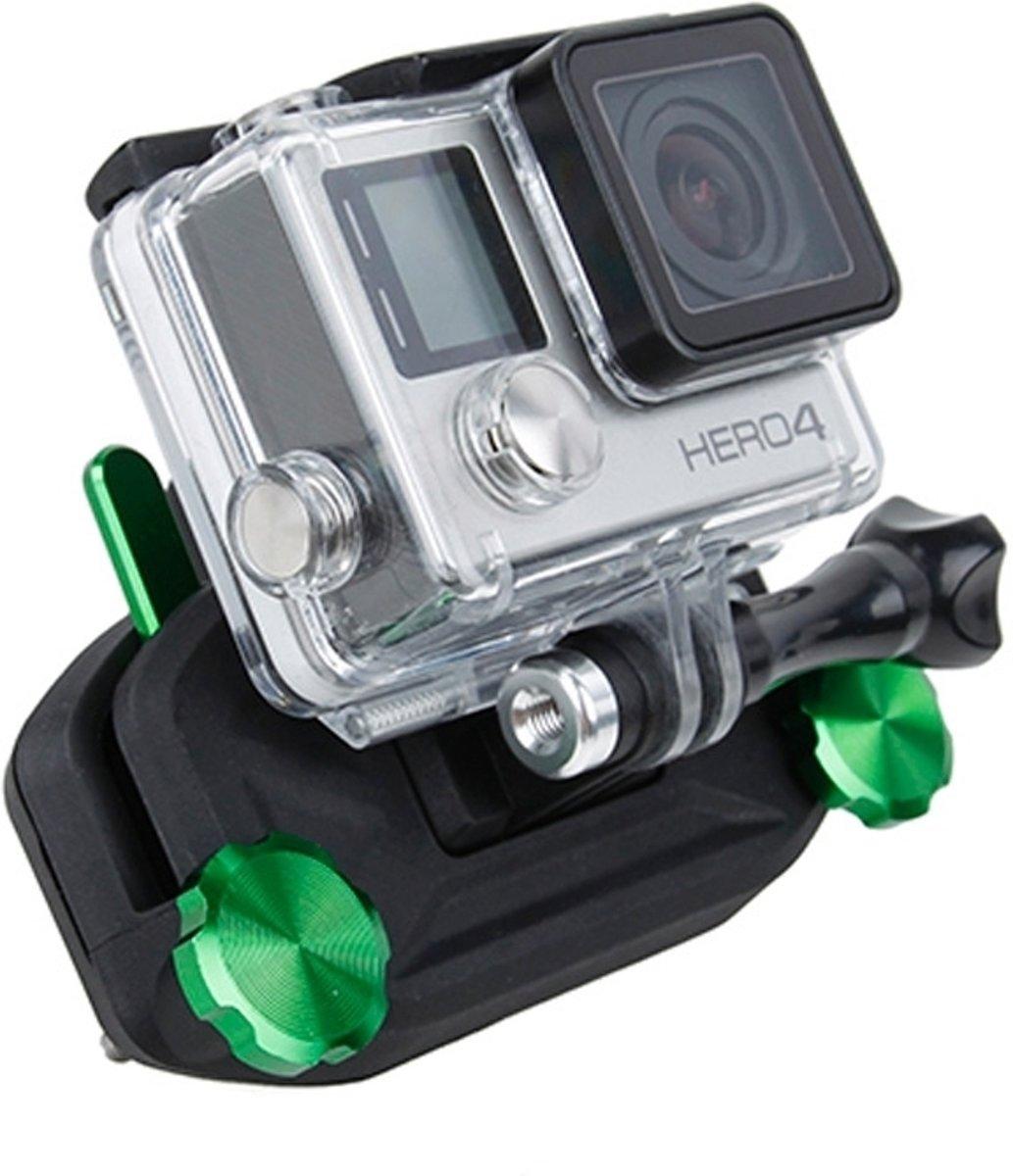 TMC HR331 Universele riemgesp Opknoping Quickdraw Strap Mount-set voor GoPro NIEUWE HERO / HERO6 / 5 sessie / 5/4 sessie / 4/3 + / 3/2/1, andere sportcamera's (groen)- kopen