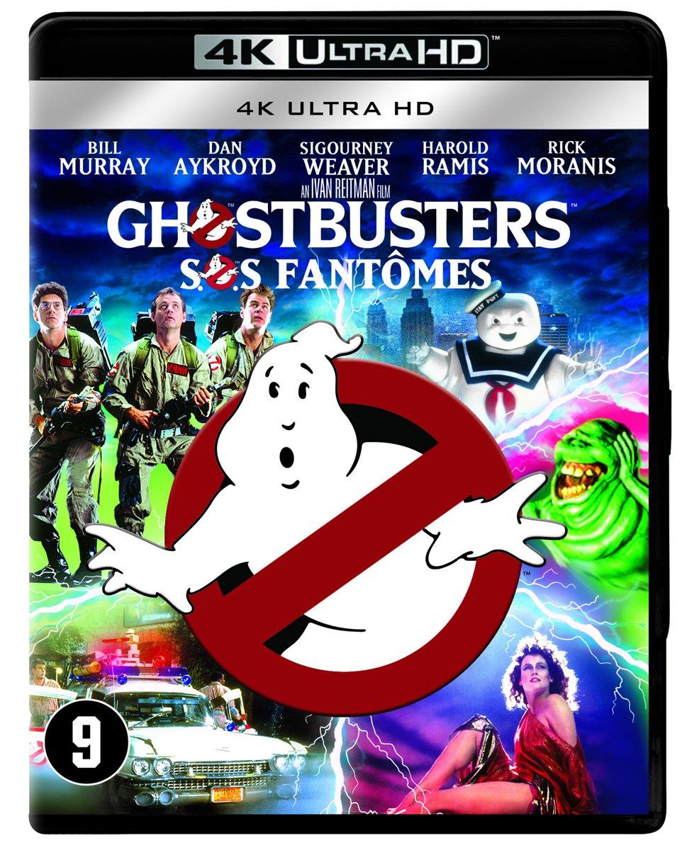 Ghostbuster (Sos Fantômes) (4K Ultra HD Blu-ray)-