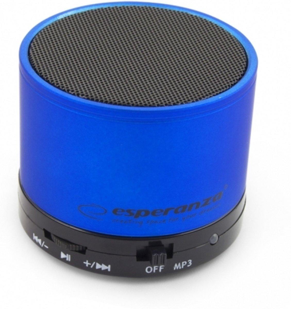 Esperanza Bluetooth Speaker Ritmo - Blauw kopen