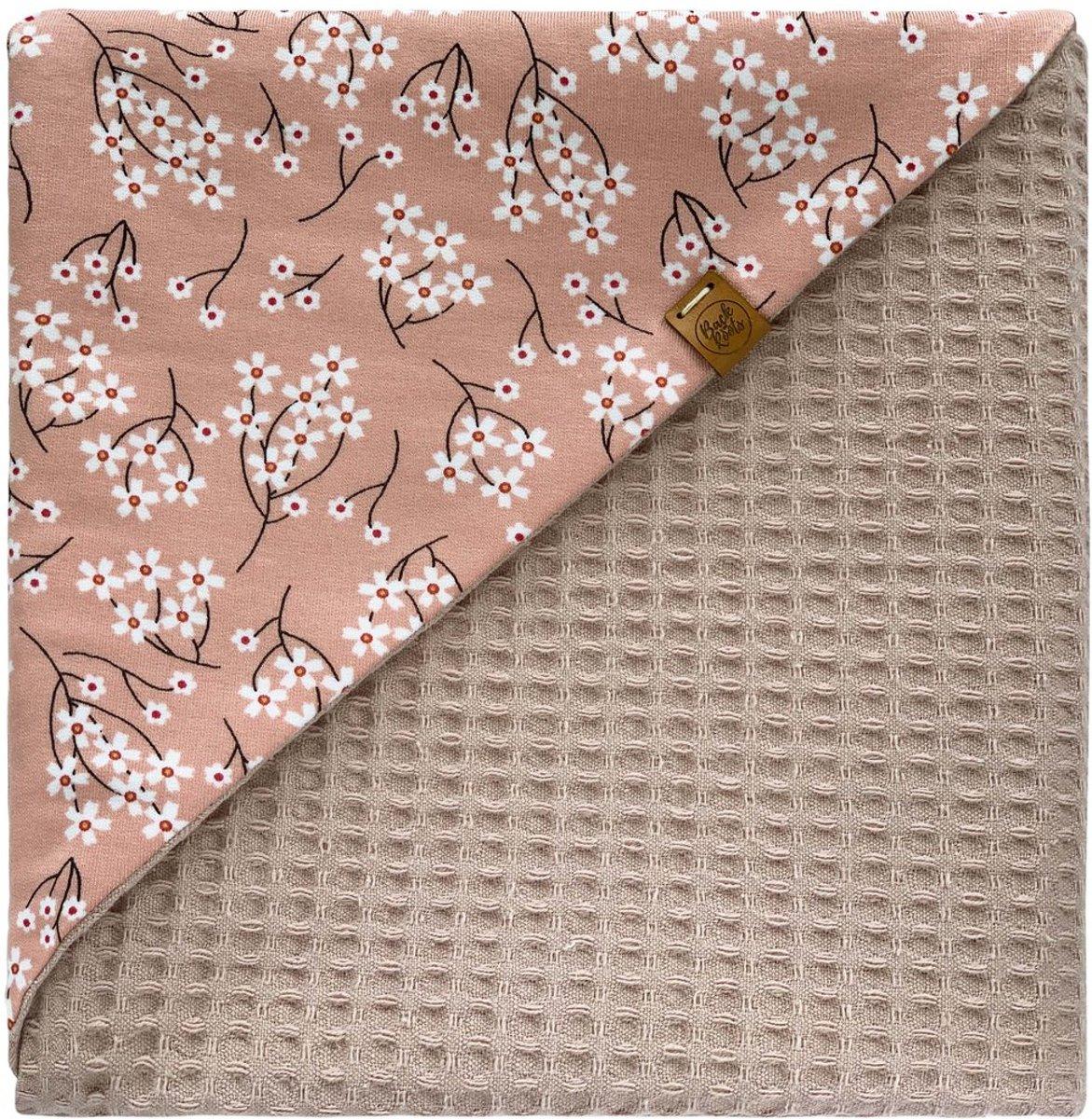 Lilly Wikkeldoek - wafel oud roze