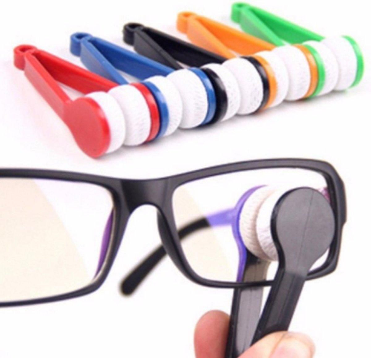 2x Microvezel bril schoonmaker kopen