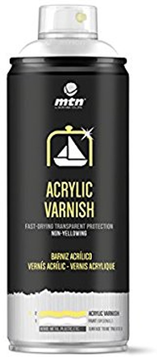 MTN SPECIALTY Acrylbasis Vernis Satijn (semi-glossy) - 400 ml Spuitverf kopen