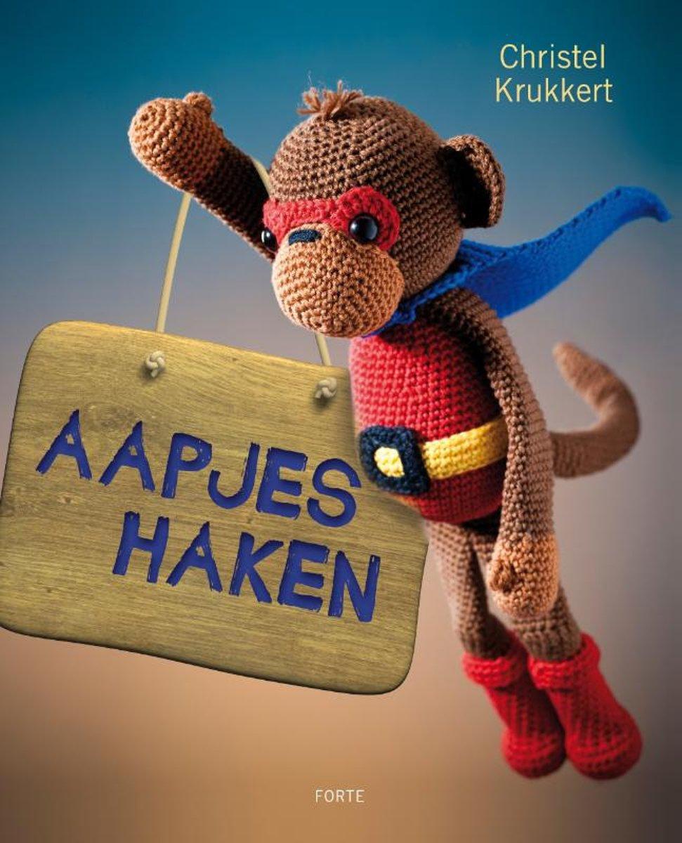 Bolcom Aapjes Haken Christel Krukkert 9789058779427 Boeken