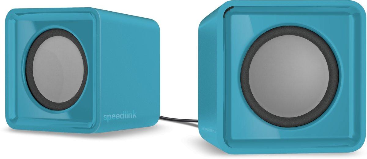 Speedlink TWOXO - Stereo Speakerset - Turquoise kopen