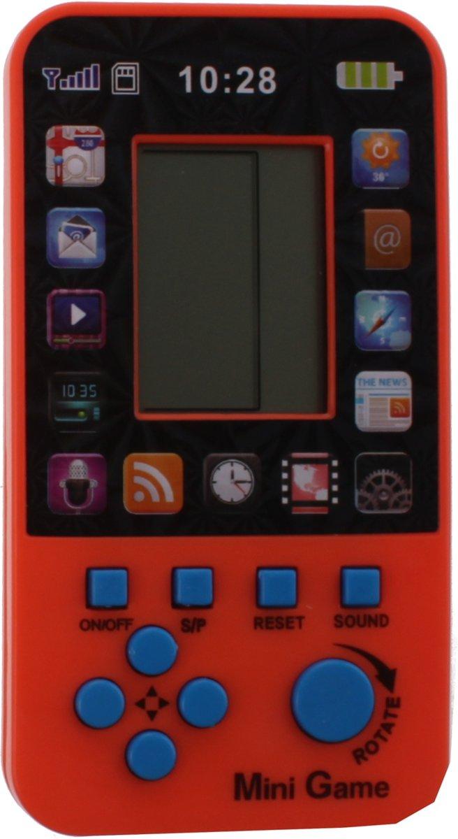 Jonotoys Minisupergame Tetris  12 X 6 X 2 Cm Oranje kopen