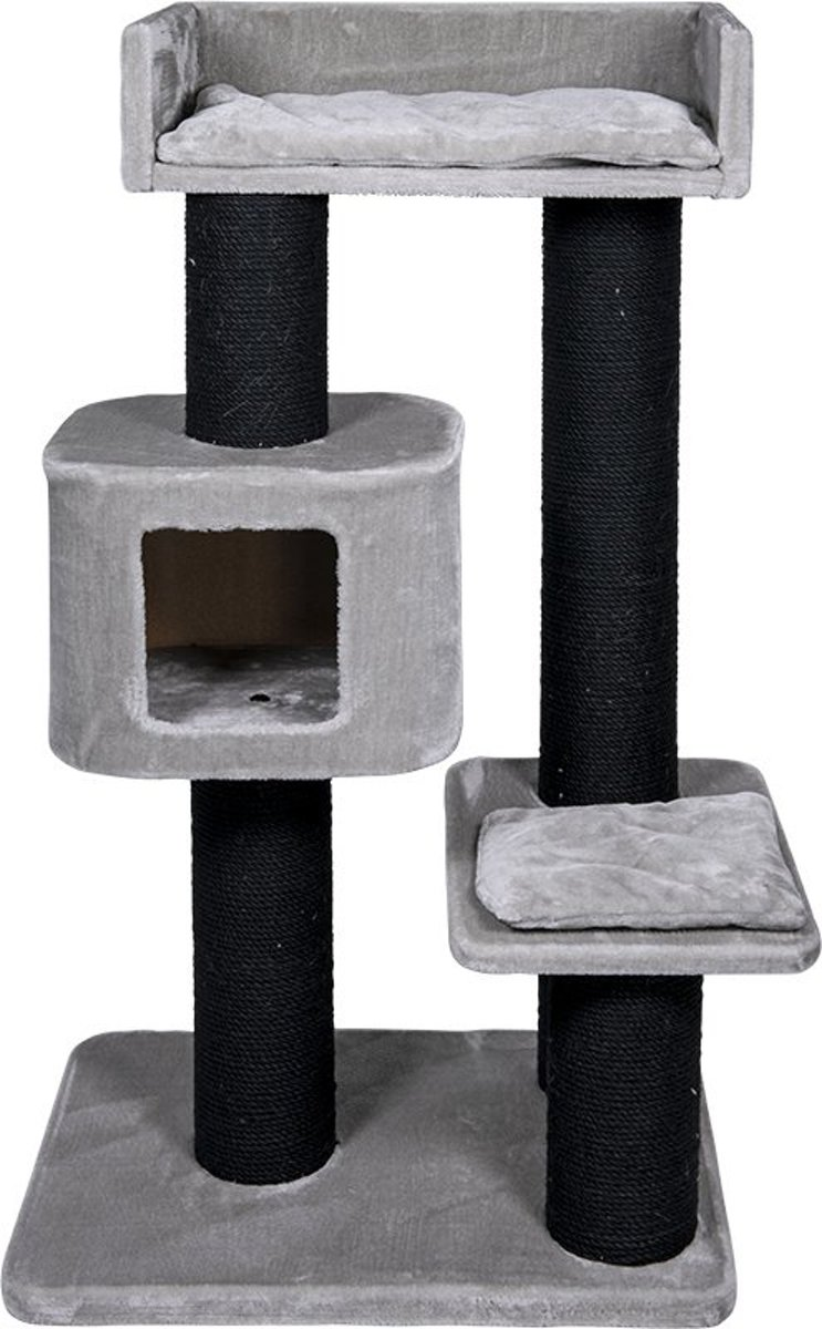 Jack and Vanilla krabpaal Timon grijs 70x50x120 cm