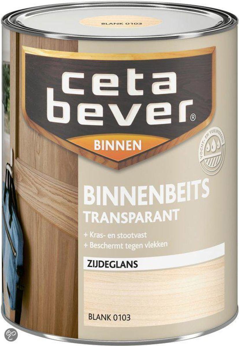 Cetabever Binnenbeits Transparant Acryl - 0,75 liter - Frans Eiken