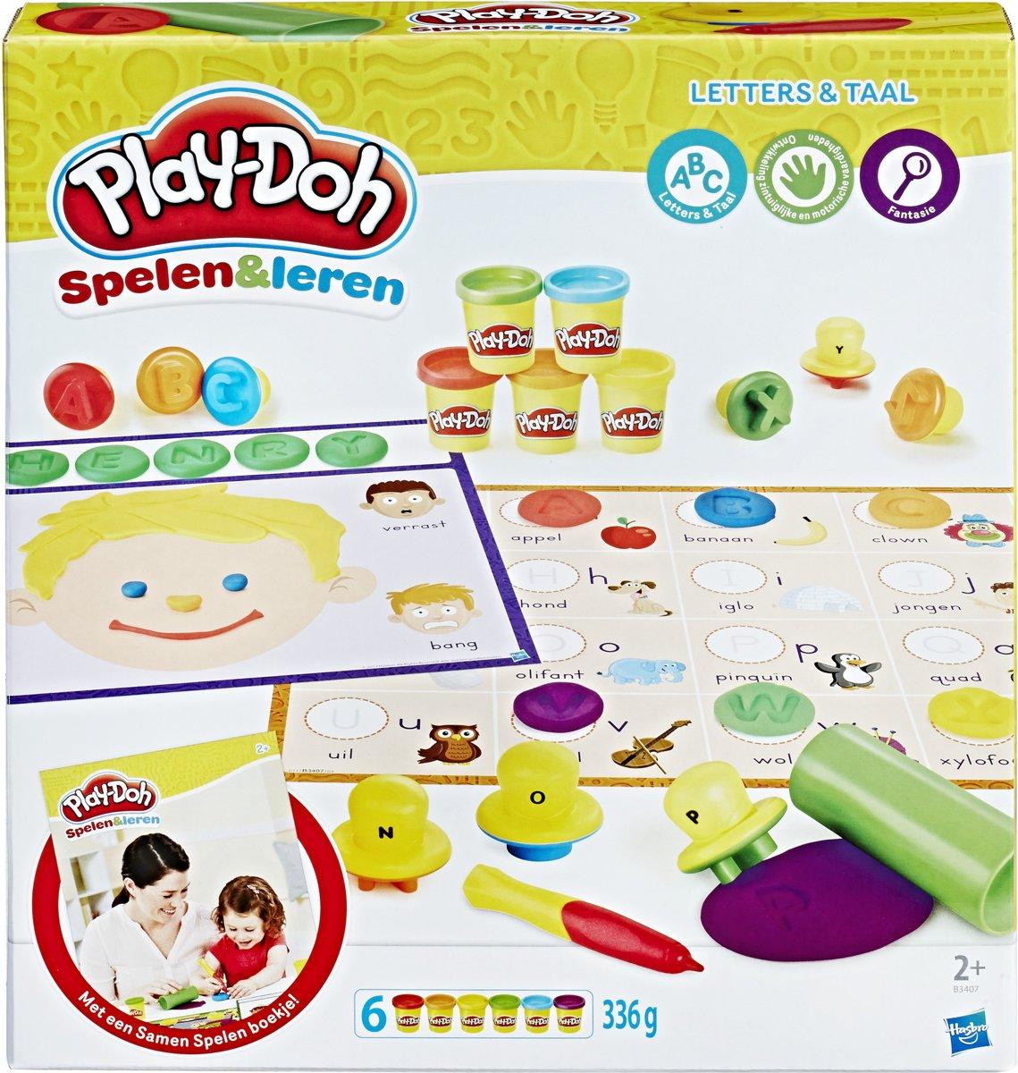 Play-Doh Letters En Taal - Klei Speelset