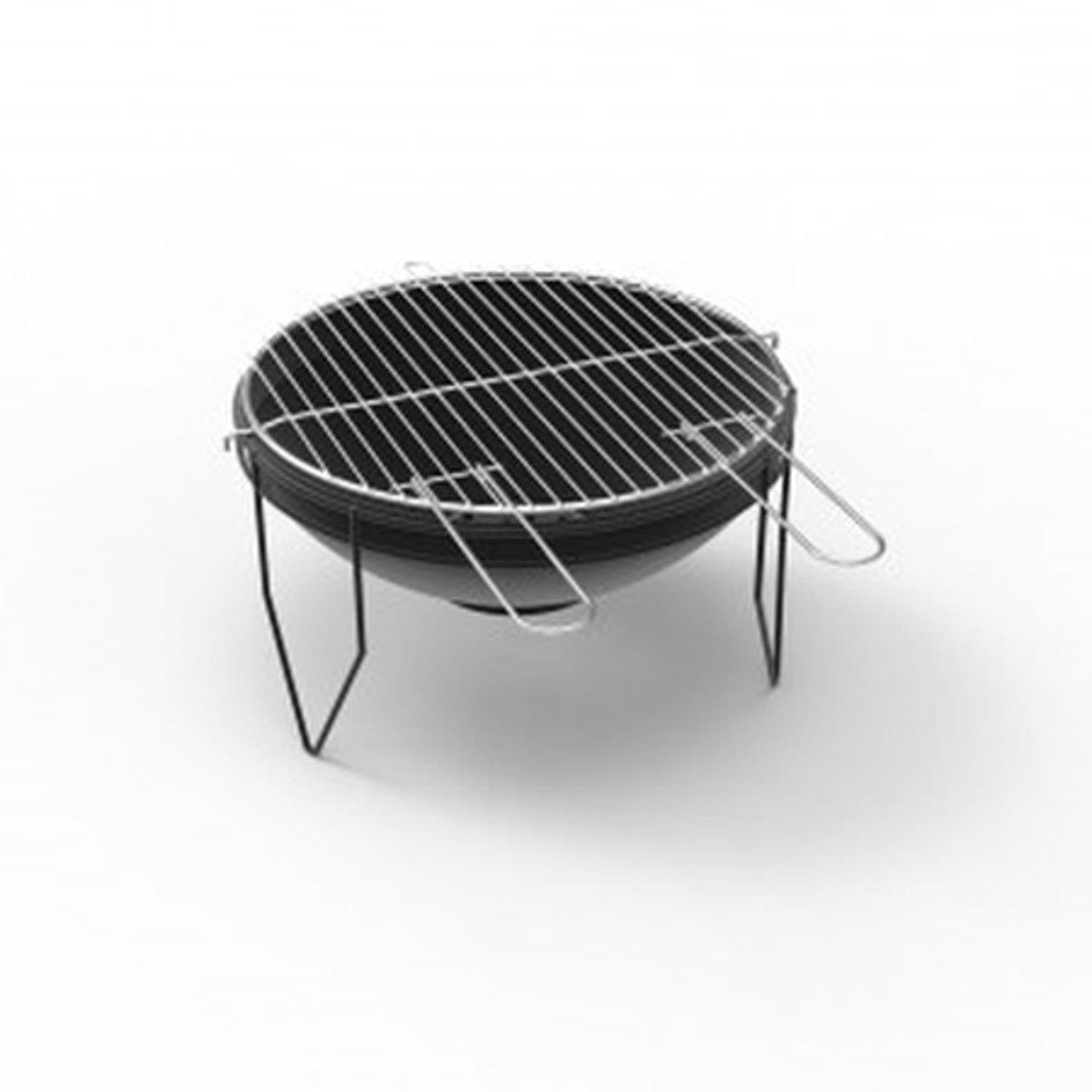 Barbecue Ferraboli Big Smile zwart kopen
