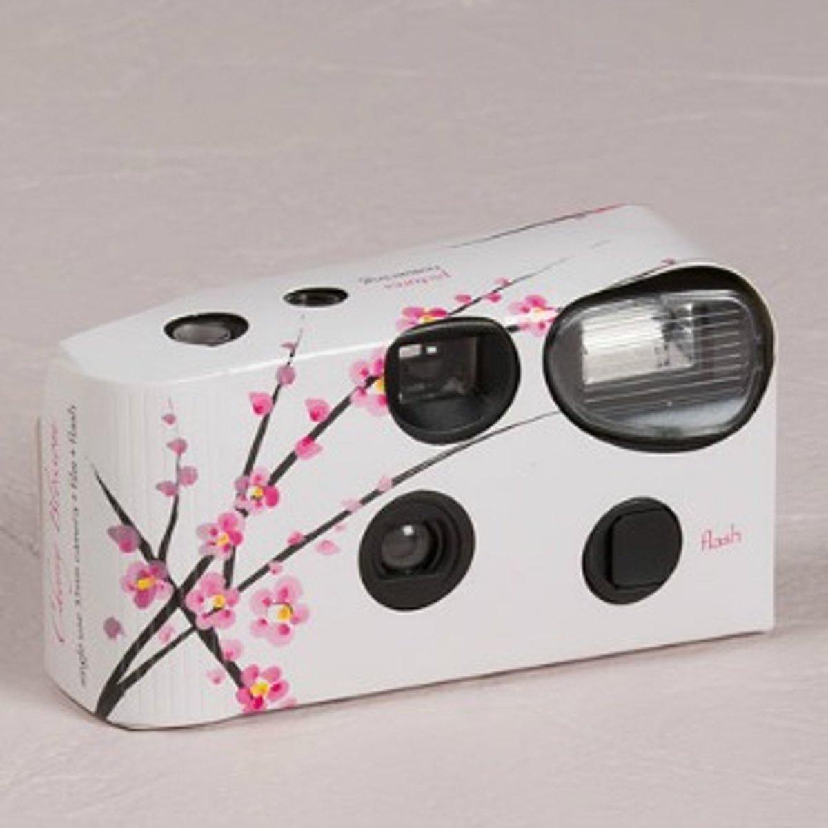 Weddingstar Wegwerpcamera cherry blossom kopen