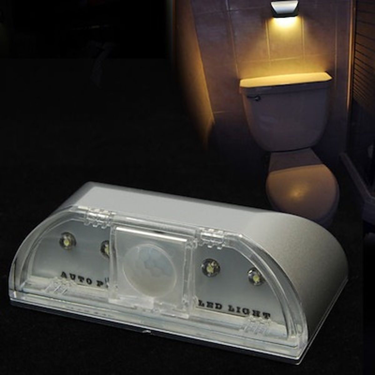 Led Sensor Lamp - Compacte design - 2x LED Warm Witte Licht - Bewegingssensor Tot 3 Meter - Motion Detection kopen