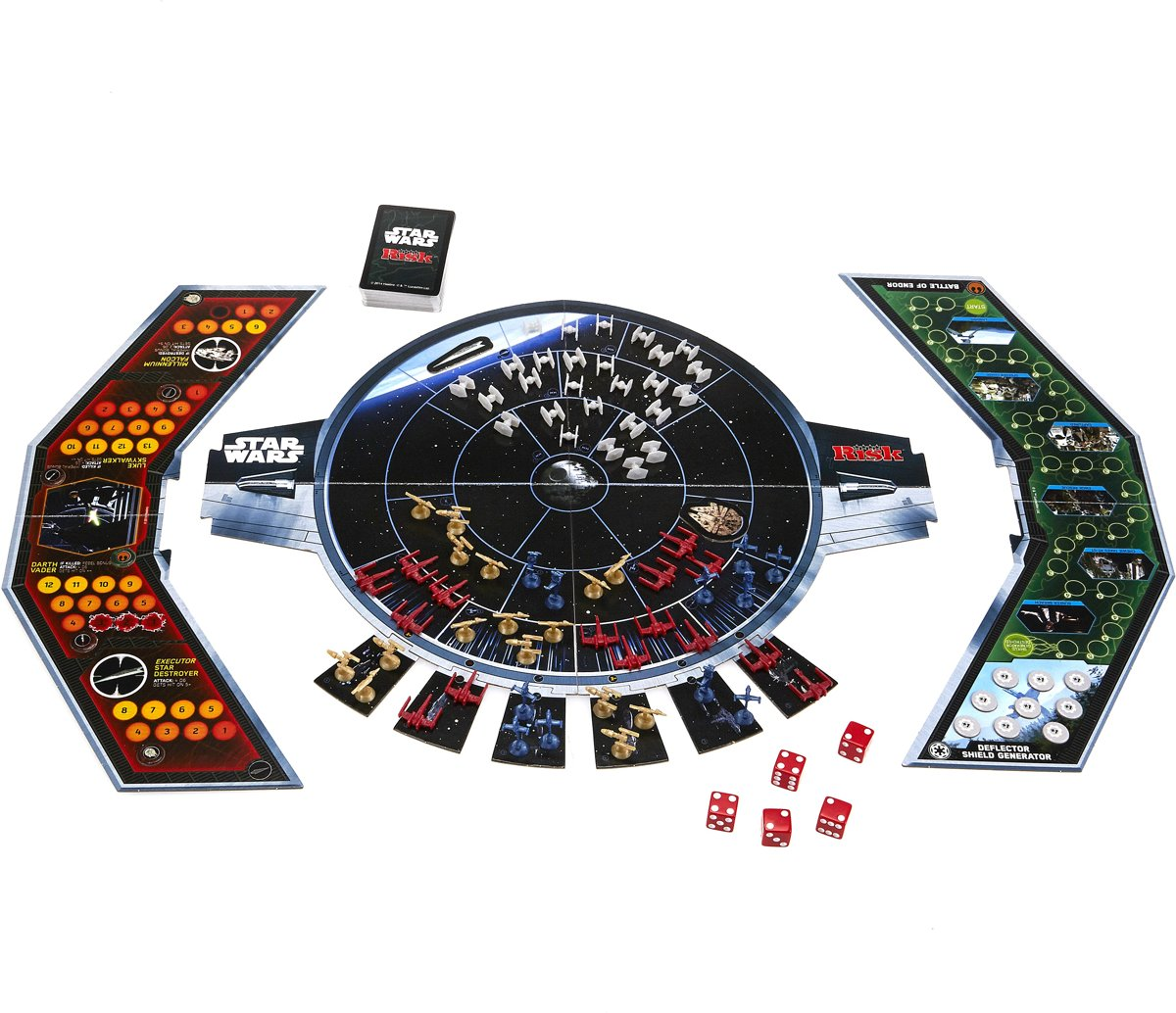 Bol Com Risk Star Wars Bordspel Hasbro Speelgoed