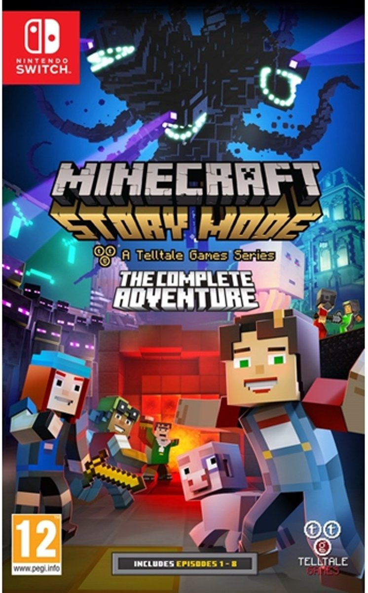 Minecraft - Story Mode, The Complete Adventure Switch