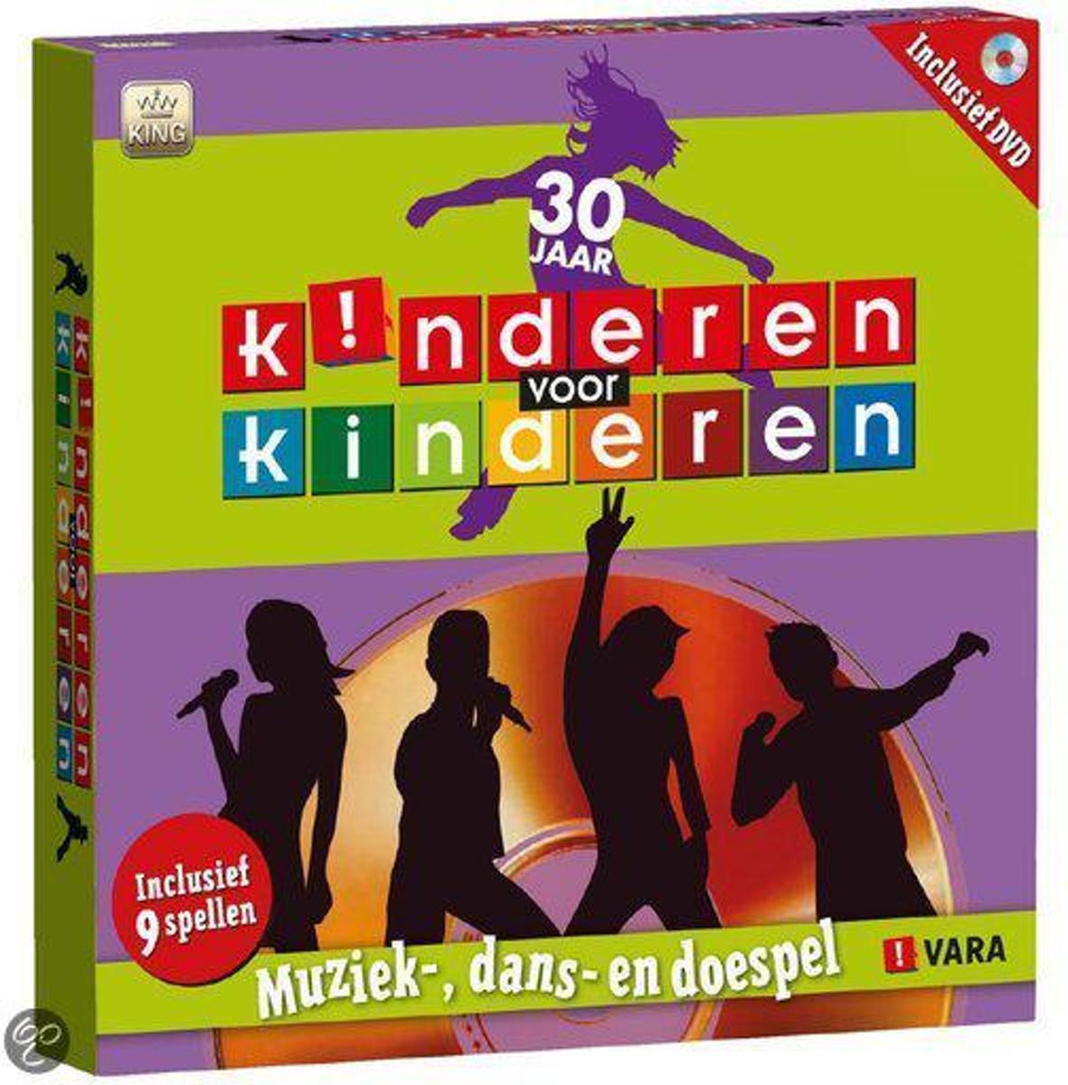 Kinderen Voor Kinderen dvd - bordspel