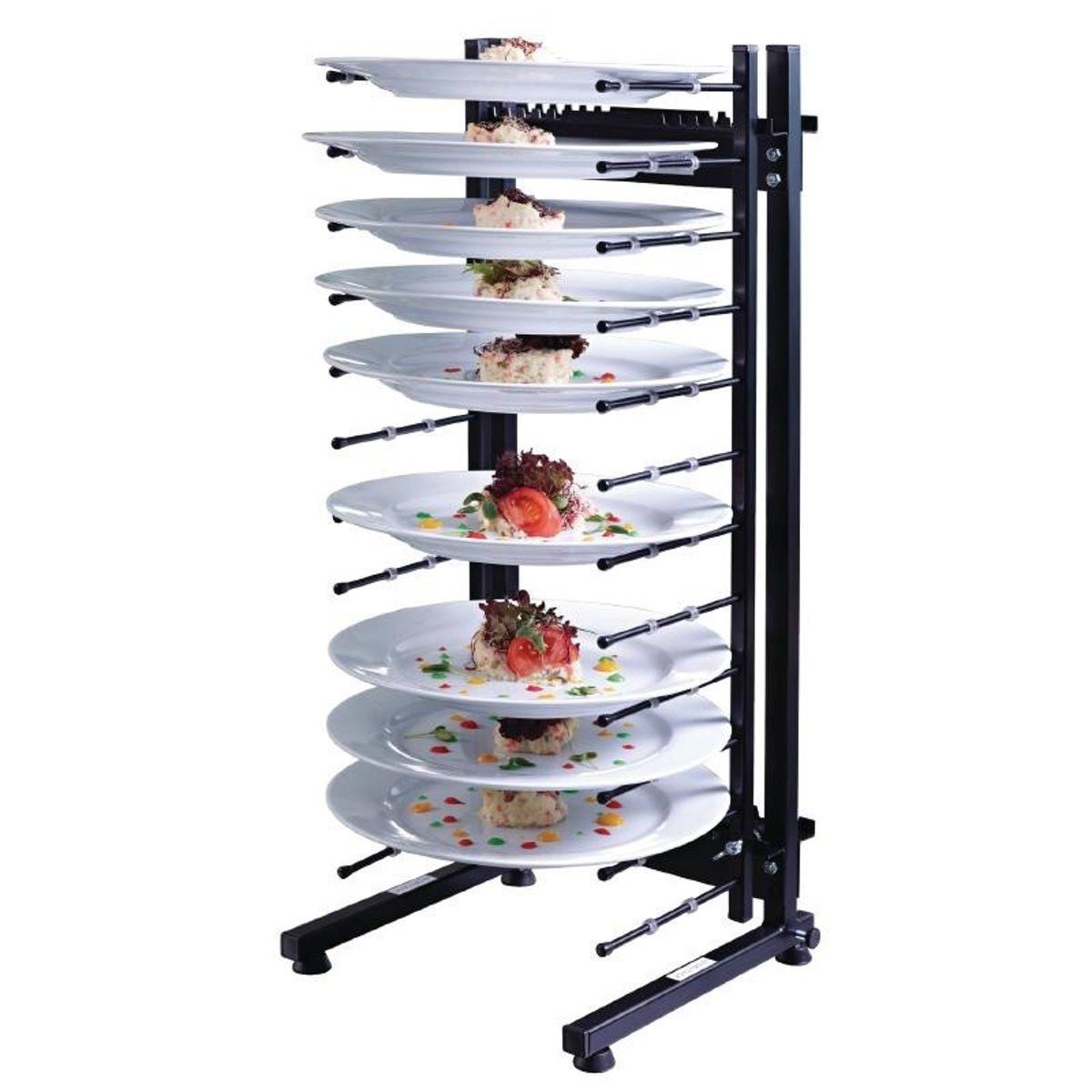 Jackstack tafelmodel bordenrek 12 borden kopen
