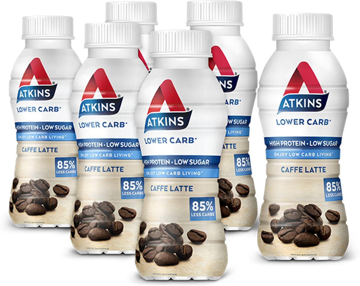 Foto van Atkins Advantage Ready To Drink Coffee drink - 5+1 gratis 330ml
