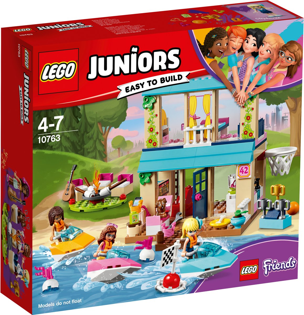 10763 Lego Juniors Stephanie