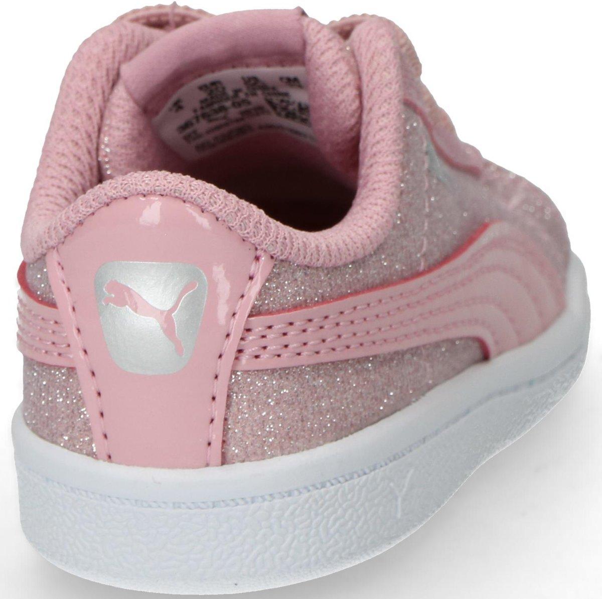 Puma Kinderen Roze Vikky Glitz Maat 25