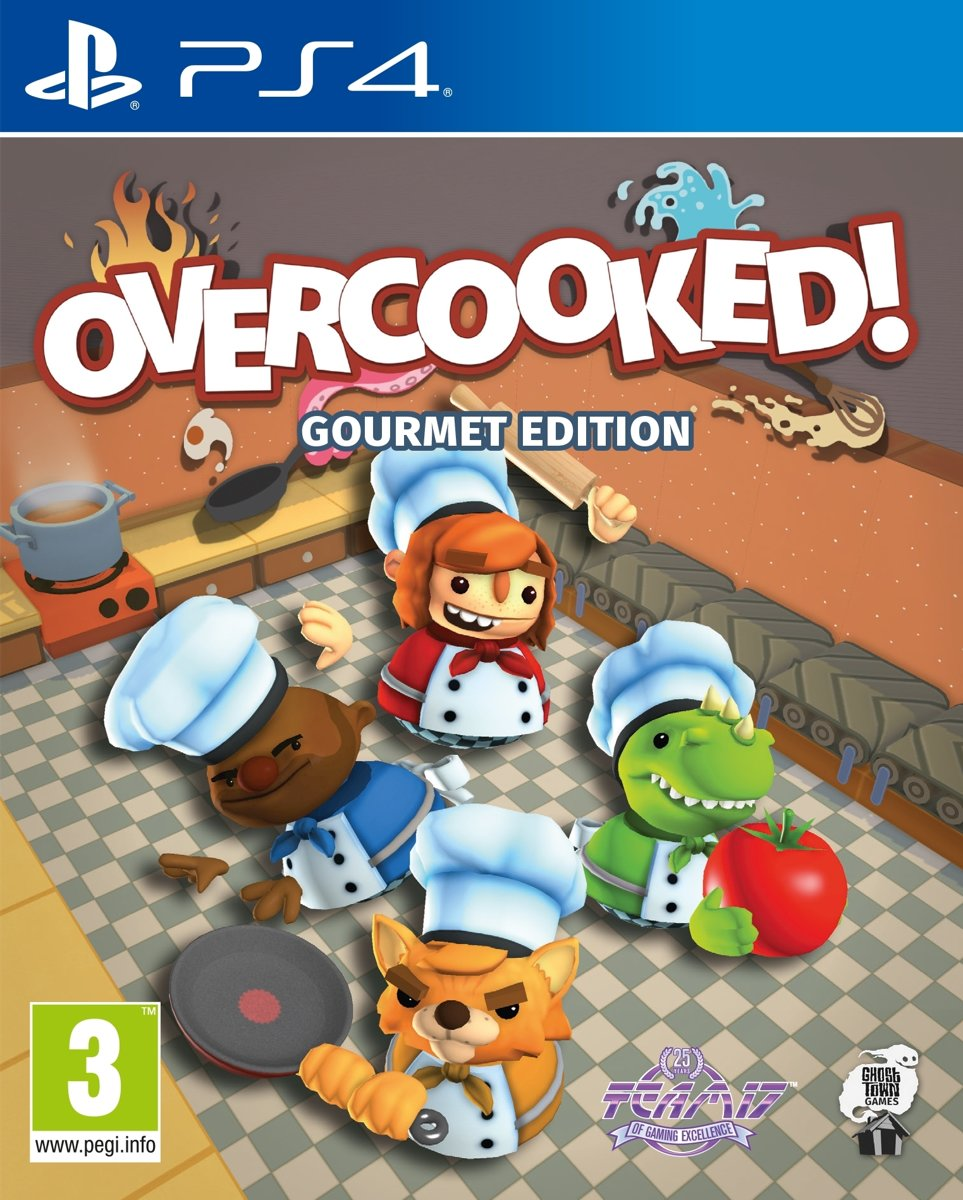 Overcooked! - Gourmet Edition PlayStation 4