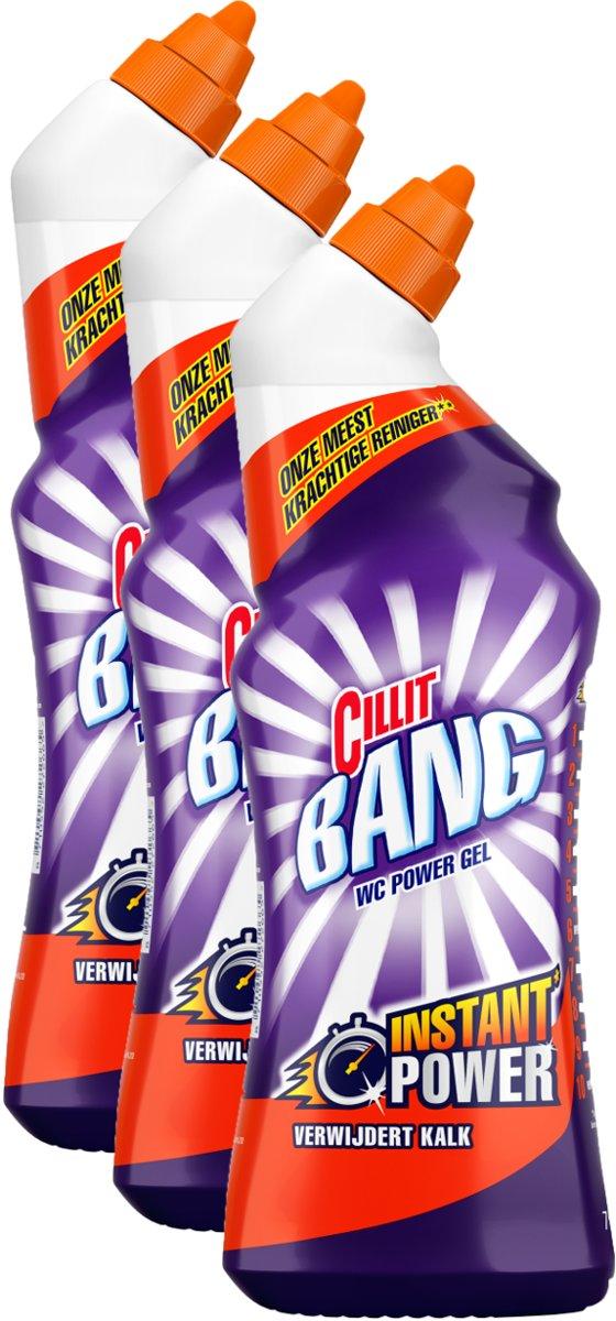 Cillit Bang Toiletreiniger Citrus - 3 x 750 ml - Grootverpakking kopen