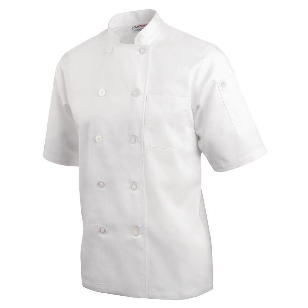 Chef Works koksbuis Monteal (maat S) kopen