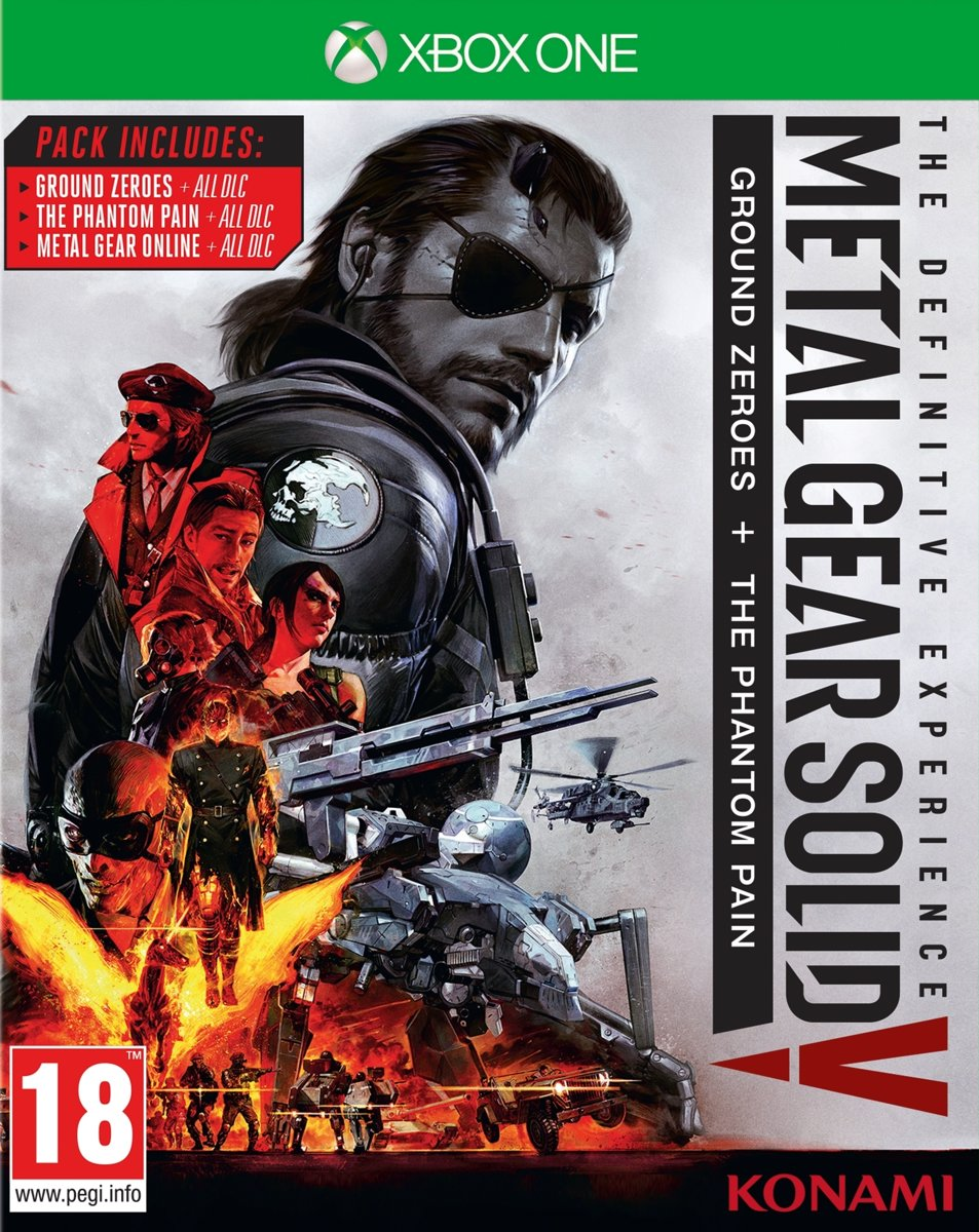Metal Gear Solid V, The Definitive Experience Xbox One