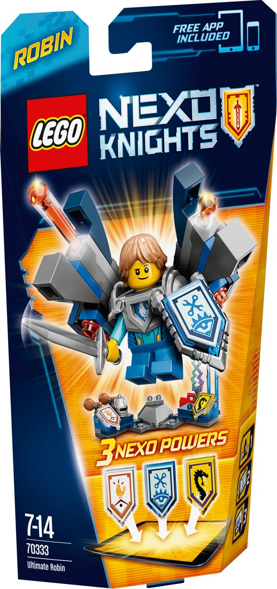 LEGO Nexo Knights 70333 - Ultimate Robin