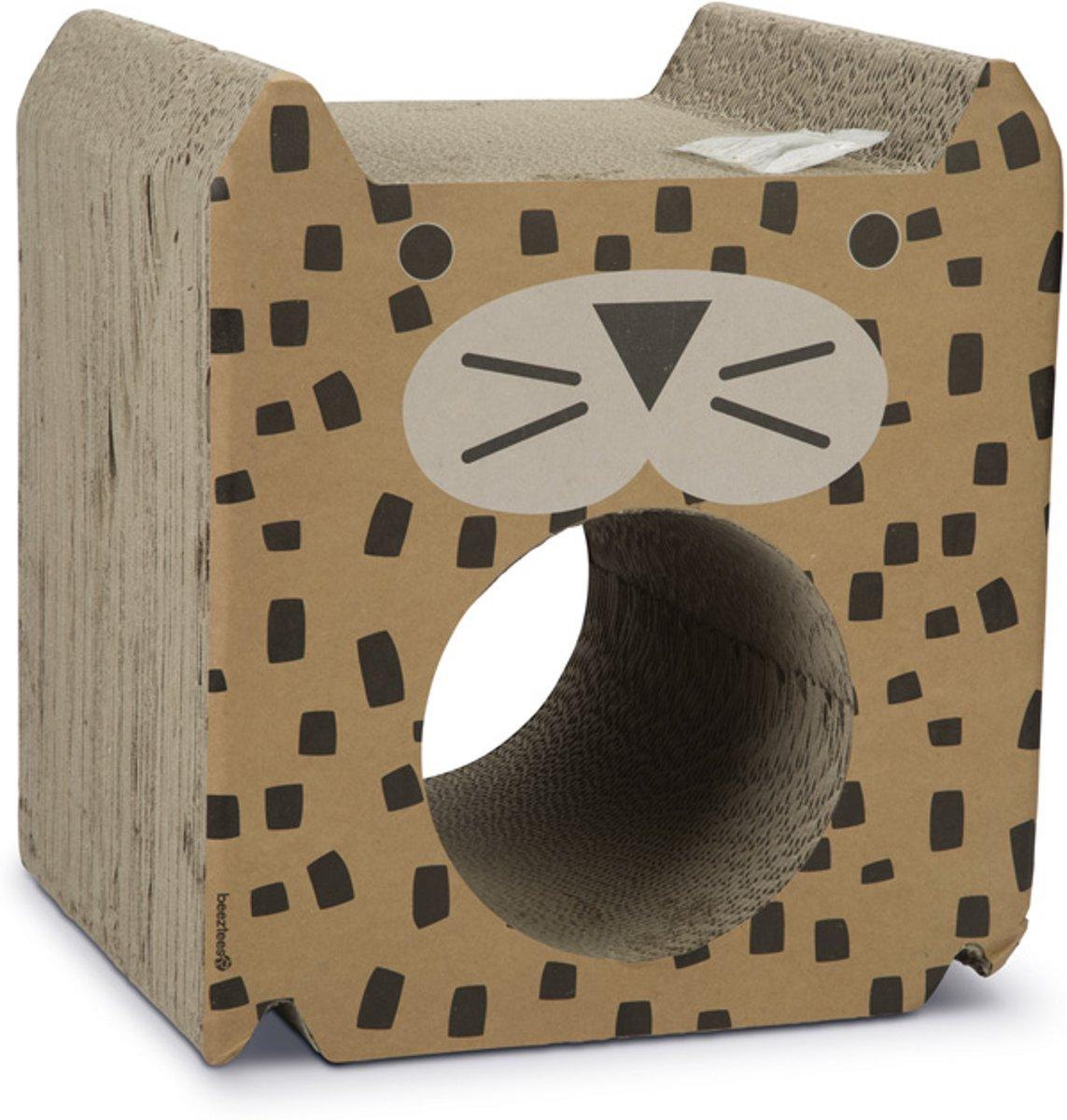 Beeztees Pantira - Kattenspeelgoed - Karton - 35x30x38,5 cm