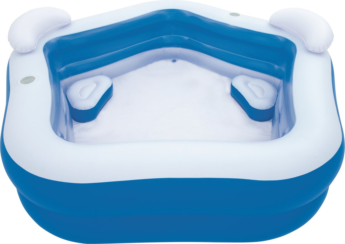 Bestway Kinderzwembad blauw 213x207x69 cm 54153