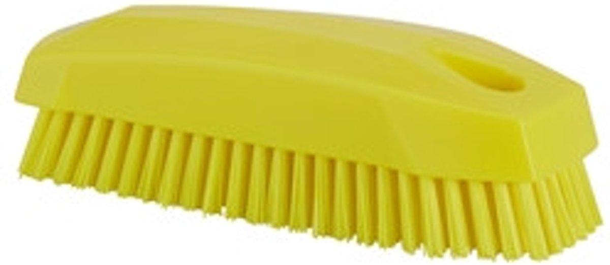 Harde nagelborstel - Geel kopen