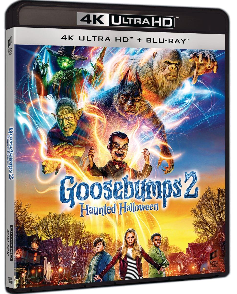 Goosebumps 2 (4K UHD Blu-ray)-