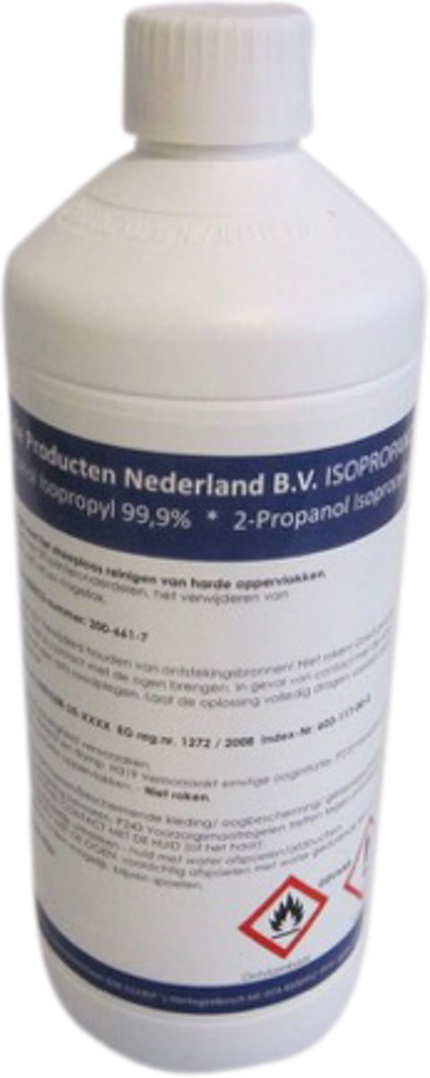 Isopropyl  Isopropanol alcohol 99,9% 1000ml kopen