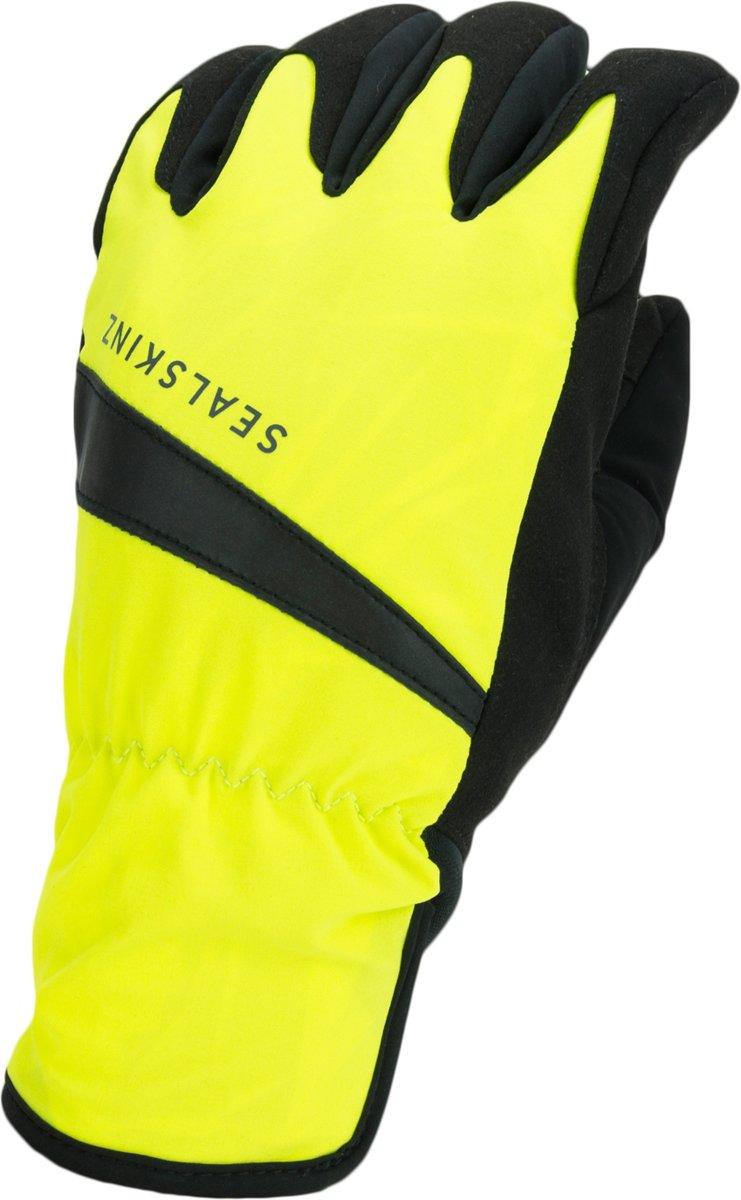Sealskinz Waterproof All Weather Cycle Glove Fietshandschoenen - Maat XL - Neon geel/Zwart kopen