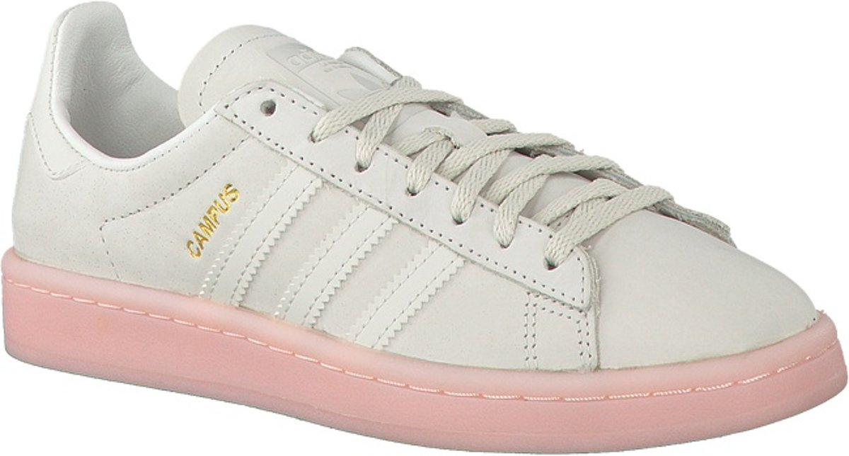 on sale 48db4 3028c bol.com  Adidas Dames Sneakers Campus Dames - Wit - Maat 36⅔