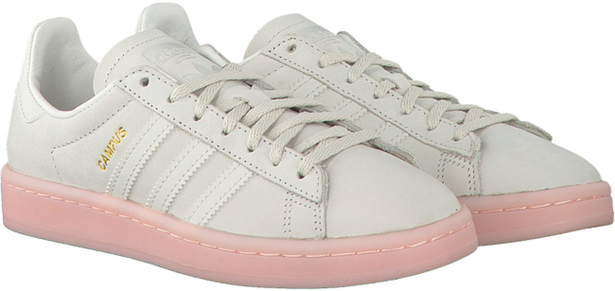 on sale 65bf7 01713 bol.com  Adidas Dames Sneakers Campus Dames - Wit - Maat 36⅔