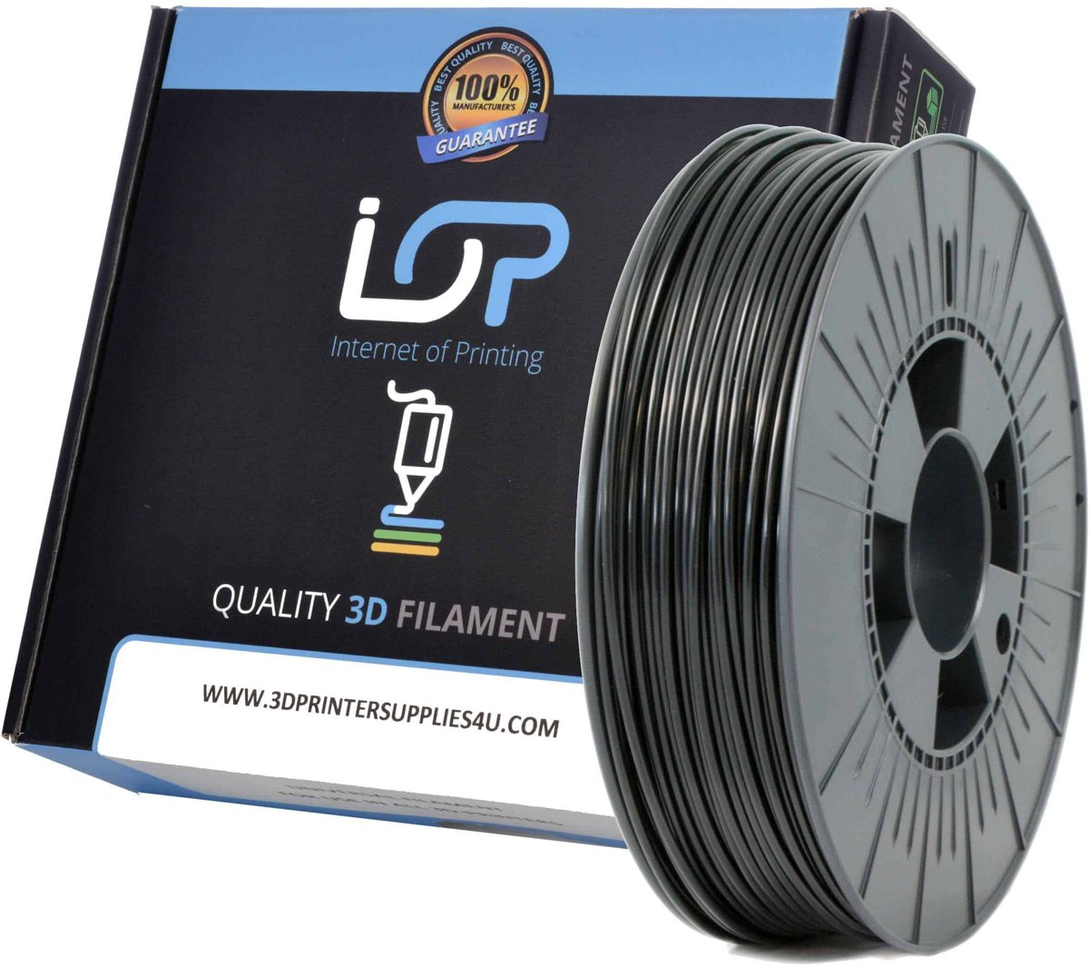 IOP ABS 2,85mm Black 1kg