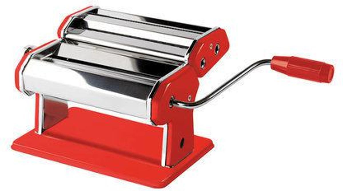 Jamie Oliver Pastamachine - Rood - RVS kopen