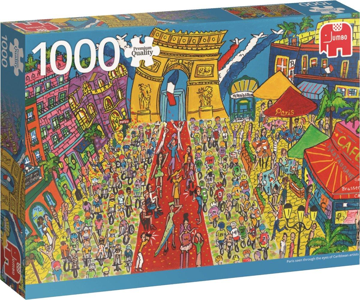Arc de Triomphe Paris Premium Quality - Puzzel 1000 stukjes