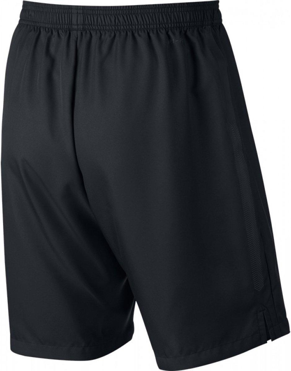 Nike Court Dry Tennisshort Heren Sportbroek performance Maat XL Mannen zwartwit