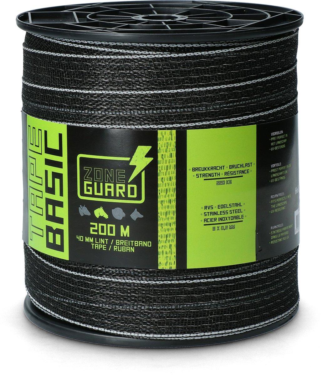 ZoneGuard Lint Eco 40 mm zwart