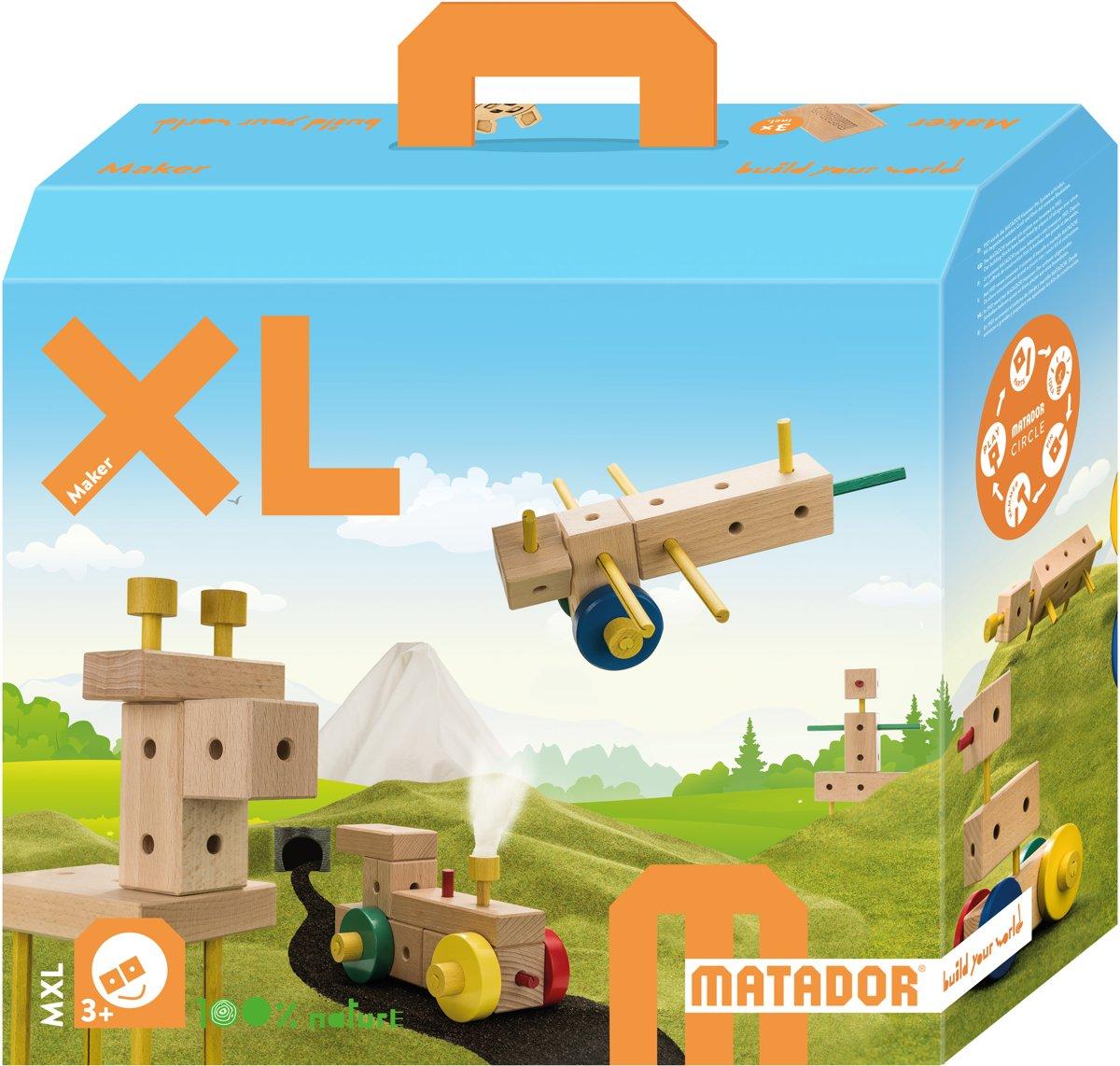 Matador Maker 3+ 350-delig KiXL Bouwdoos