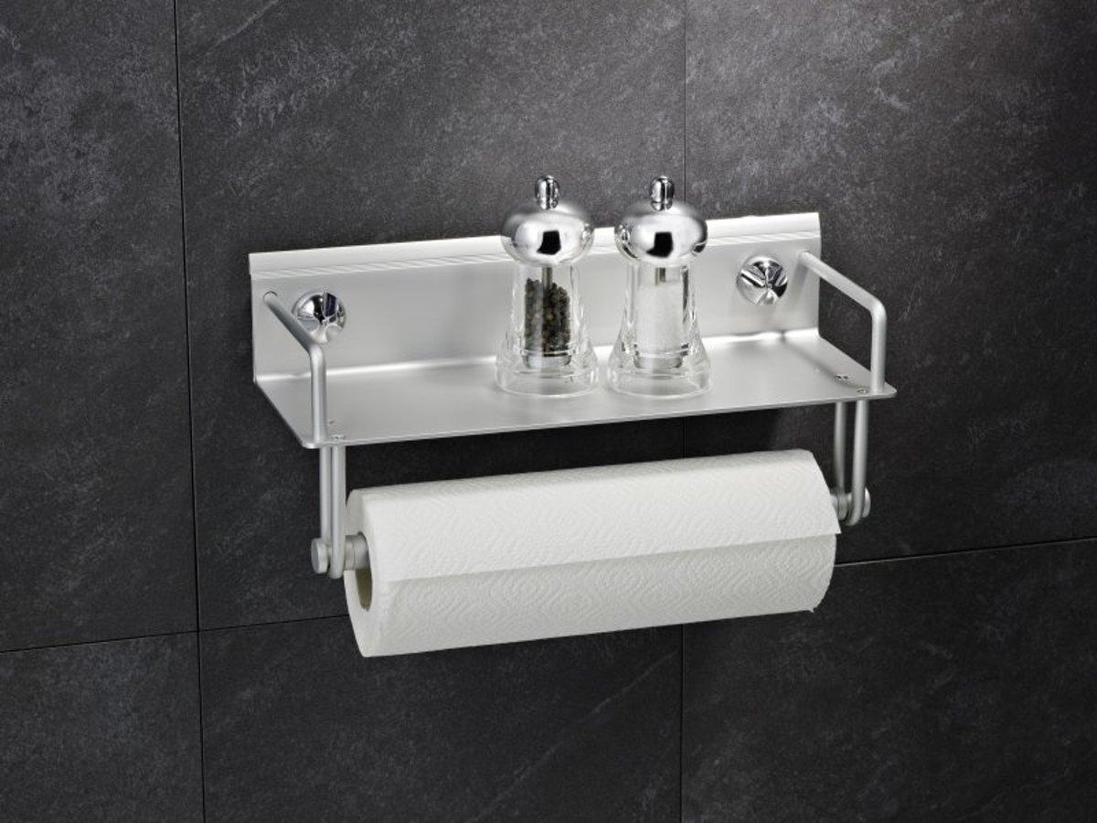 Everloc AL-10010 Keukenrolhouder met handdoekendrager kopen