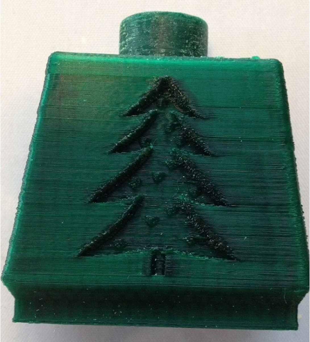 1.75mm kerstgroen ABS filament