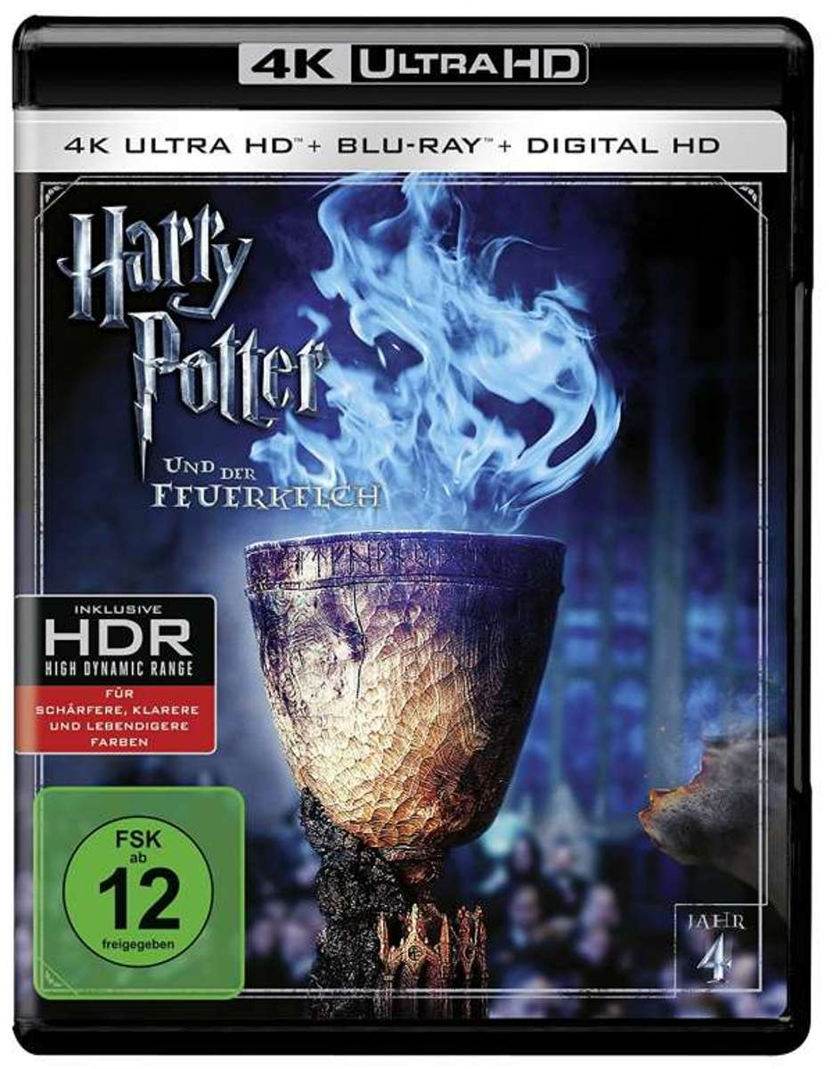 Harry Potter And The Goblet Of Fire (2005) (Ultra HD Blu-ray & Blu-ray)-