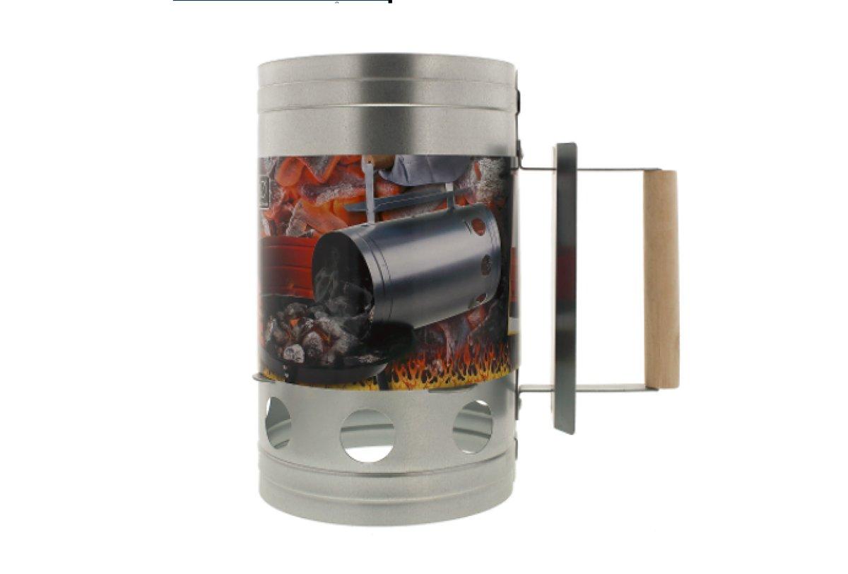 Houtskoolstarter | Barbecue snelstarter - Metaal | Barbecue starter | houtskool starter|Barbecue Brikettenstarter kopen