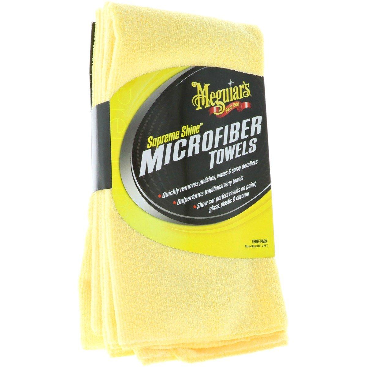 Meguiars Gold Class Supreme Shine Microfiber - 3 Pack kopen