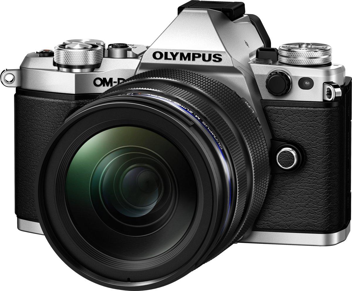 Olympus OM-D E-M5 Mark II + EZ-M 12-40mm PRO - Zwart