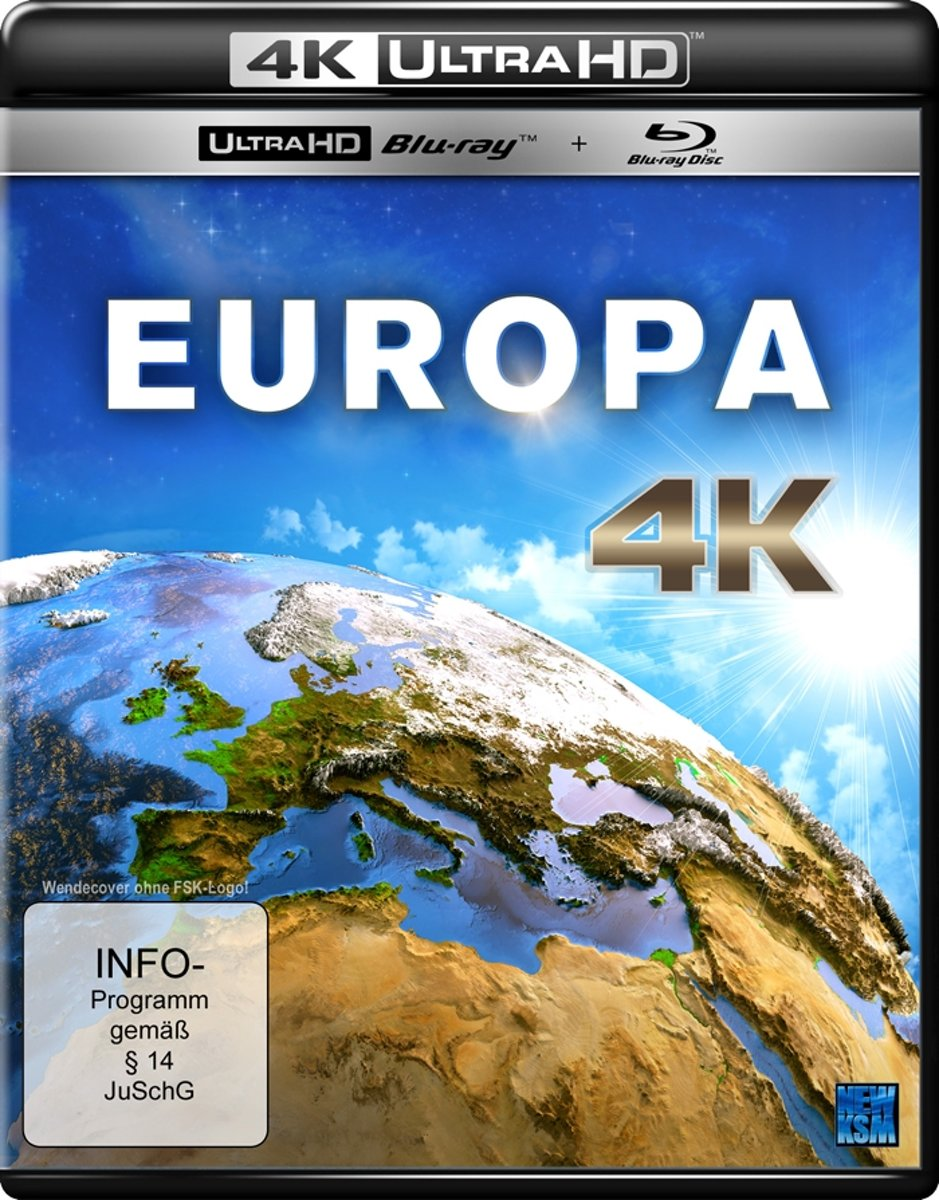 Europa (Ultra HD Blu-ray & Blu-ray)-