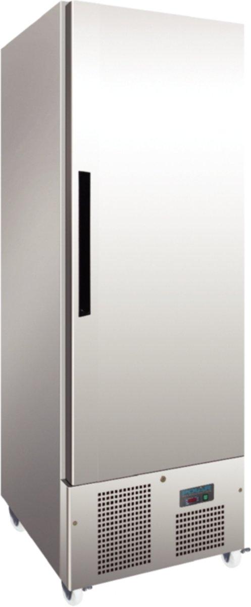 Polar 1-deurs slimline RVS vriezer 440ltr kopen