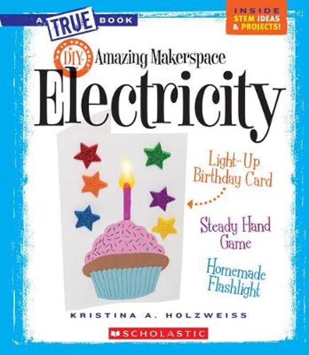 Stupendous Bol Com Amazing Makerspace Diy Electricity A True Book Personalised Birthday Cards Veneteletsinfo